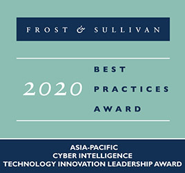 CYFIRMA Awarded Frost & Sullivan APAC Best Practice for Cyber Intelligence Technology Innovation Leadership